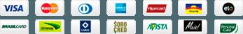 Bandeiras Cartão Crédito