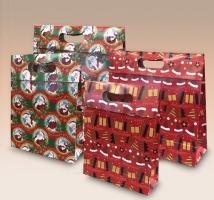 Caixa Sacola Natal - embal. c/12 unid. Sortidas