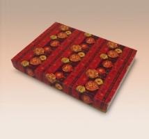 Caixa Semi-Rígida com Glitter Natal