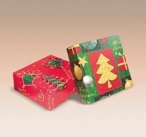 Caixas Flexíveis p/ Bijouteria Natal - embal. c/ 20 unid. sortidas